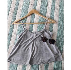 🌼Madewell crop tank and sunglasses bundle